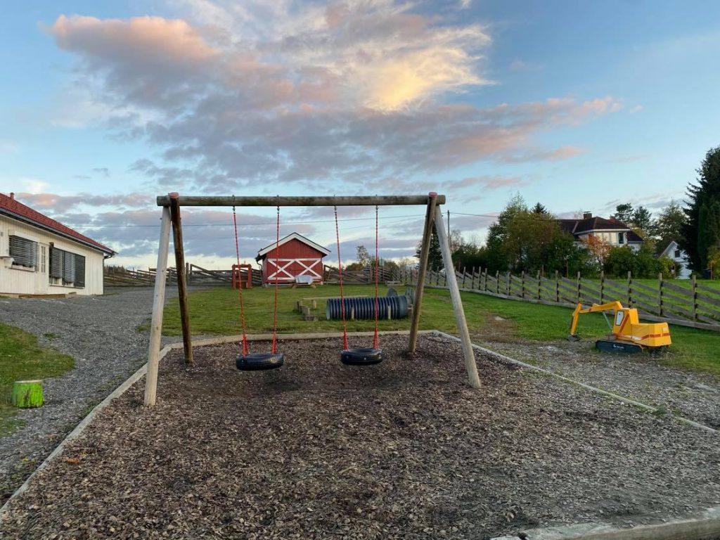 Lekeområdet barnehagen